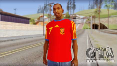 Spanish Football Shirt for GTA San Andreas