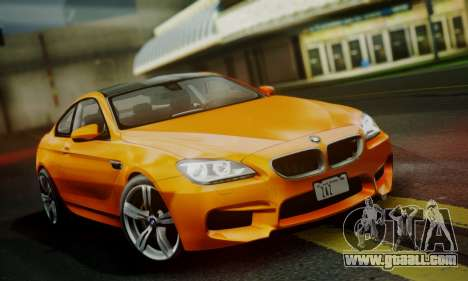 BMW M6 F13 2013 for GTA San Andreas side view