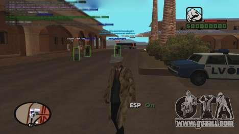 ESP for GTA San Andreas second screenshot
