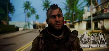 John Soap MacTavish for GTA San Andreas third screenshot