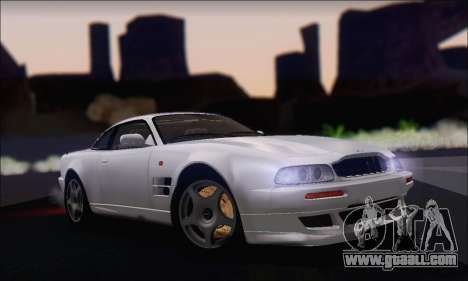 Aston Martin V8 Vantage V600 1998 for GTA San Andreas back left view