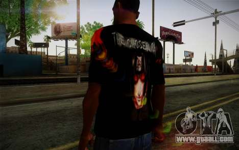 Uchiha Itachi T-Shirt for GTA San Andreas third screenshot