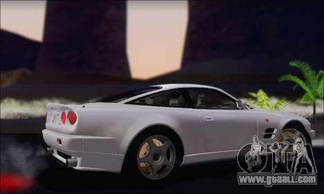 Aston Martin V8 Vantage V600 1998 for GTA San Andreas right view