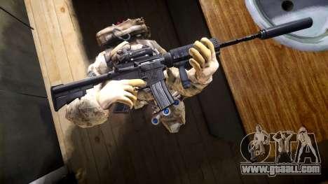 M4A1 V1.1 for GTA 4