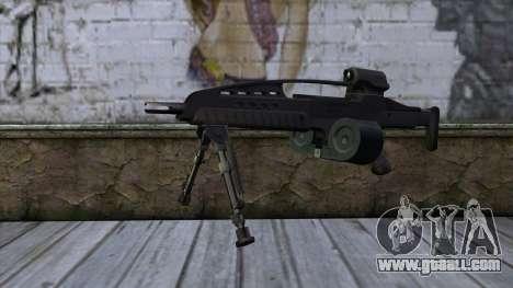 XM8 LMG Black for GTA San Andreas