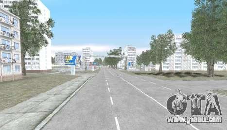 Russian Map 0.5 for GTA San Andreas