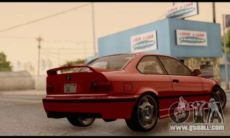 BMW M3 E36 1994 for GTA San Andreas left view