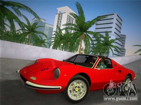 Ferrari 246 Dino GTS 1972 for GTA Vice City
