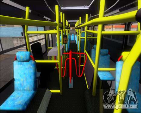 Neobus Mega IV - TCA (Araras) for GTA San Andreas side view