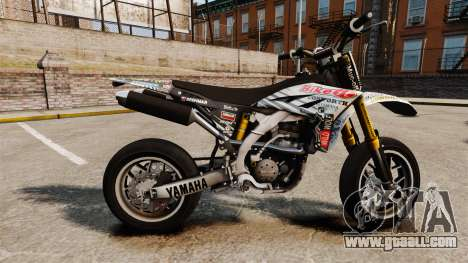Yamaha YZF-450 v1.10 for GTA 4 left view