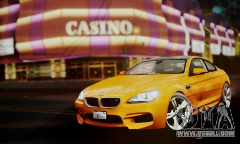 BMW M6 F13 2013 for GTA San Andreas right view
