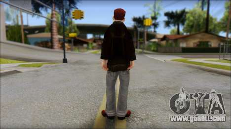 Vance from Bully Scholarship Edition for GTA San Andreas second screenshot