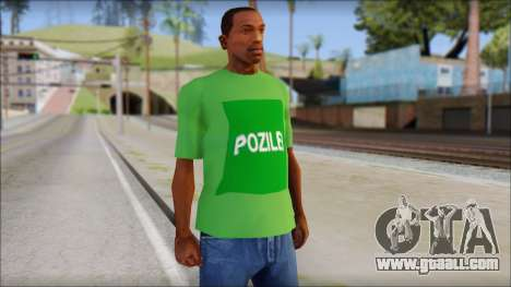 Pozilei T-Shirt for GTA San Andreas