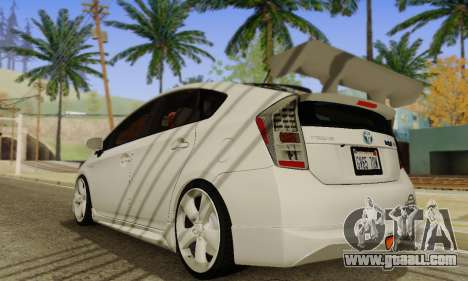 Toyota Prius Tunable for GTA San Andreas right view