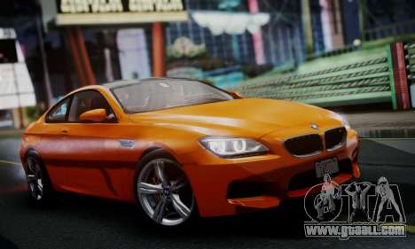 BMW M6 F13 2013 for GTA San Andreas left view
