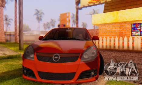 Opel Vectra C for GTA San Andreas back view