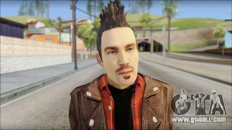 Biker from Avenged Sevenfold 3 for GTA San Andreas third screenshot