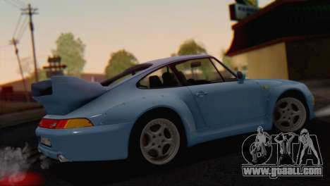Porsche 911 GT2 (993) 1995 V1.0 SA Plate for GTA San Andreas wheels