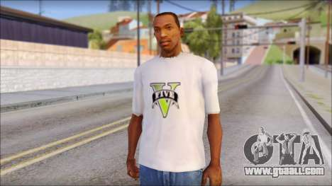 GTA 5 Fan T-Shirt for GTA San Andreas