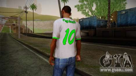 Algerian Football T-Shirt for GTA San Andreas second screenshot