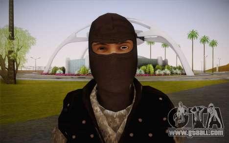 Fuerzas Especiales for GTA San Andreas third screenshot