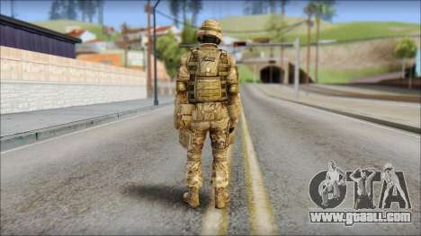 Desert GRU from Soldier Front 2 for GTA San Andreas second screenshot