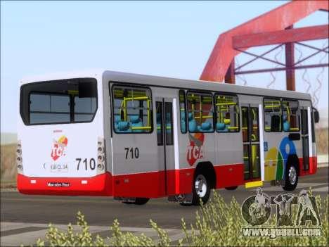 Neobus Mega IV - TCA (Araras) for GTA San Andreas right view