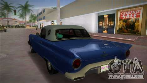 Ford Thunderbird for GTA Vice City left view