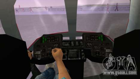 Mi-34 for GTA Vice City back left view