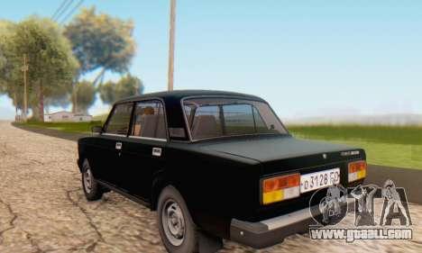 VAZ 2107 Stock for GTA San Andreas