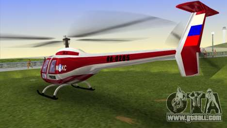 Mi-34 for GTA Vice City left view