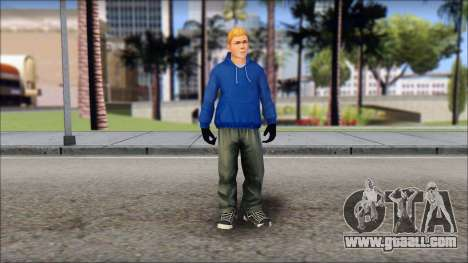Jimmy from Bully Scholarship Edition for GTA San Andreas second screenshot