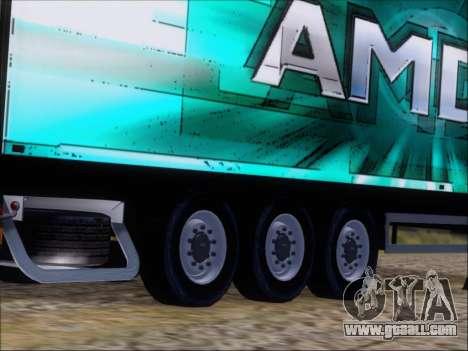 Trailer AMD Athlon 64 X2 for GTA San Andreas side view