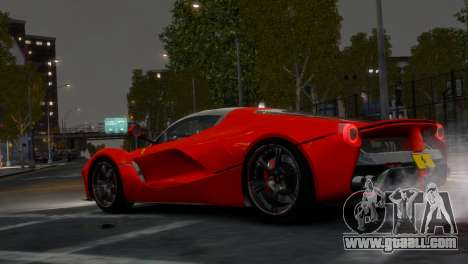 Ferrari LaFerrari WheelsandMore Edition for GTA 4 right view