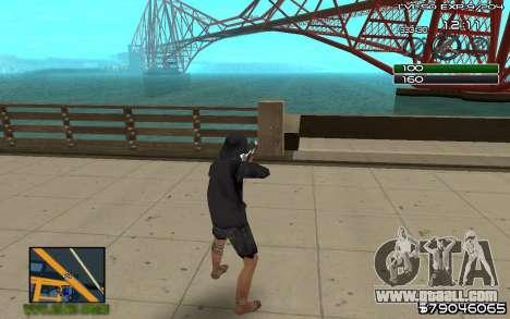 C-HUD by SampHack v.8 for GTA San Andreas second screenshot