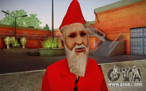 Santa Claus for GTA San Andreas third screenshot
