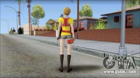 Final Fantasy XIII - Alyssa for GTA San Andreas second screenshot