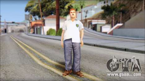 Russell from Bully Scholarship Edition for GTA San Andreas second screenshot