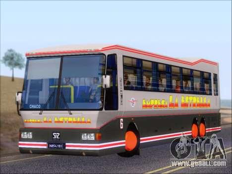 San Antonio Augusto - Empresa La Estrella for GTA San Andreas wheels