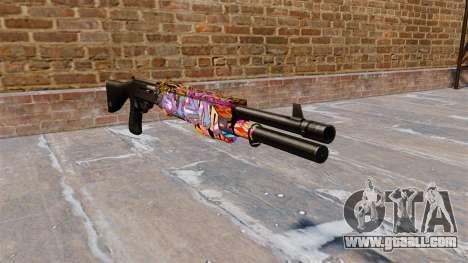Ружье Franchi SPAS-12 Graffitti for GTA 4
