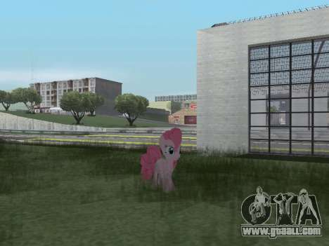 Pinkie Pie for GTA San Andreas seventh screenshot