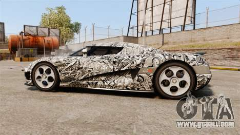 Koenigsegg CCX v1.5 for GTA 4 left view