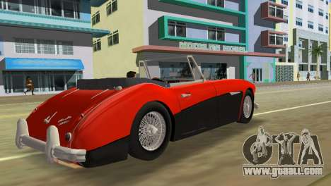 Austin-Healey 3000 Mk III for GTA Vice City left view