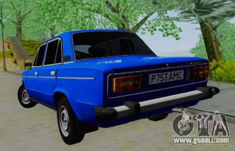 VAZ 21061 for GTA San Andreas back left view
