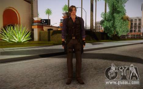 Leon Kennedy from Resident Evil 6 for GTA San Andreas