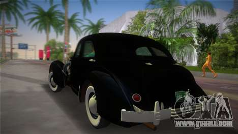 Cord 812 Charged Beverly Sedan 1937 for GTA Vice City left view