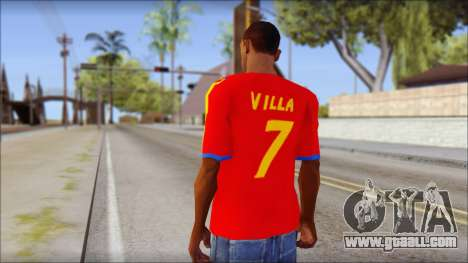 Spanish Football Shirt for GTA San Andreas second screenshot