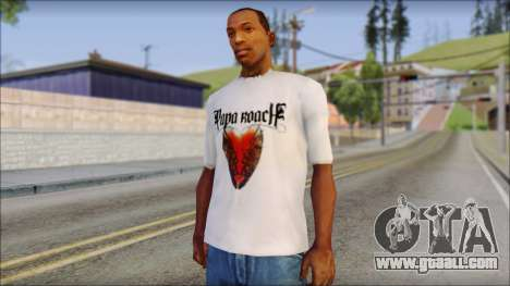 Papa Roach The Best Of To Be Loved Fan T-Shirt for GTA San Andreas