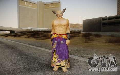 Heihachi Mishima v2 for GTA San Andreas