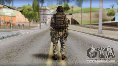 Forest GROM from Soldier Front 2 for GTA San Andreas second screenshot
